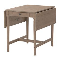 """Ikea - Kinda of on the low side and not that pretty - but very affordable - $129.Product dimensions  Length: 34 5/8 """"  Min. length: 23 1/4 """"  Max. length: 46 1/8 """"  Width: 30 3/4 """"  Height: 28 3/4 """""""