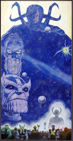 Infinity Gauntlet by Jim Starlin