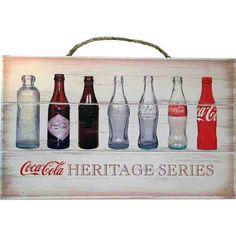 Coca-Cola Bottle Evolution Wood Sign http://www.retroplanet.com/PROD/41764