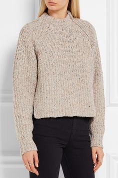 Étoile Isabel Marant | Happy knitted sweater | NET-A-PORTER.COM