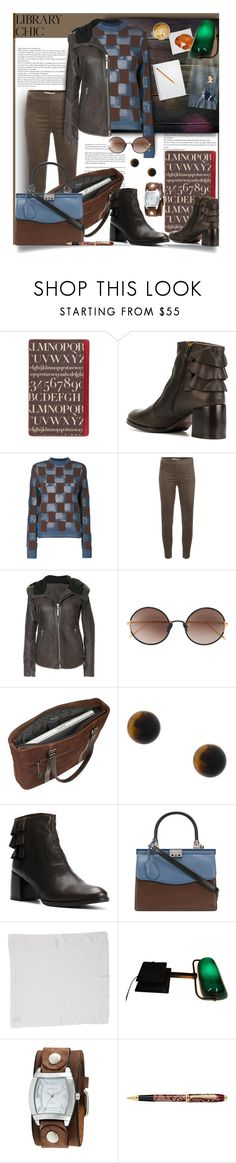 """Study Session: Library Chic"" by tiffanysblues ❤ liked on Polyvore featuring Assouline Publishing, Chie Mihara, Marni, D.Exterior, ISAAC SELLAM EXPERIENCE, Sunday Somewhere, Mobile Edge, Astley Clarke, Rodo and Nemesis"