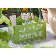 Seed Packets Organiser Tin - 2 Colours Available