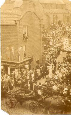 Otley near Leeds - West Yorkshire - England - Wedding at the Parish Church - 1900