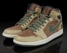 f5f33d5c673e Jordan Shoes Air Jordan 1 Retro Armed Forces Military Medium Brown Urban  Haze  Air Jordan 1 - Here is the Air Jordan Armed Forces in a Military Green  color ...