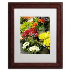 Parisian Flowers by Preston Framed Photographic Print