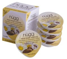 nügg Beauty Soothing Face Mask (5 pack)