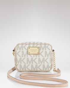 MICHAEL Michael Kors Crossbody - Jet Set Logo | Bloomingdale's