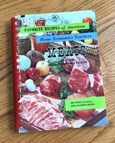 1960s Kitchen, Home Economics, Poultry, Seafood, Favorite Recipes, Beef, Sea Food, Meat, Backyard Chickens