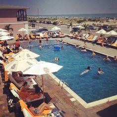 "SJ Magazine names the Ocean Club Hotel in Cape May, NJ ""Best Pool Scene in South Jersey."""