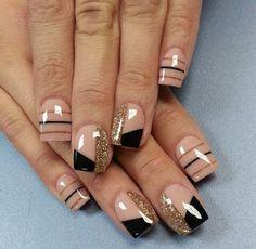 Cute Nail Art Designs For Short Nails 2019 43 Fabulous Nails, Gorgeous Nails, Pretty Nails, Cute Nail Art Designs, Hot Nails, Hair And Nails, Nagellack Design, Nagel Gel, Acrylic Nail Art