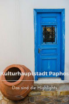 Paphos auf Zypern - die europäische Kulturhauptstadt 2017 hat alles zu bieten! Das sind meine Reisehighlights.