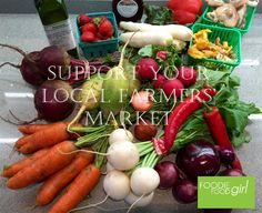 Support Your Local Farmers - Buy Locally Grown Food Whats In Season, Support Local, Plant Based Diet, Farmers Market, Potato Salad, Vegetables, Healthy, Ethnic Recipes, Food