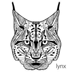 Vectores similares a 30854101 Cartoon Lynx