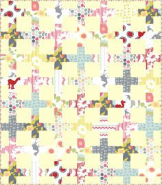 Moda baby 4 Cherry House Quilts / Fresh Modern Quilts