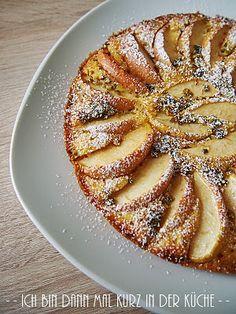 Ich bin dann mal kurz in der Küche: Die LISA Küchenflüsterin über die süßen Seiten des Lebens: Apfel-Polenta-Kuchen