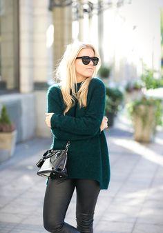 POISON GREEN : P.S. I love fashion by Linda Juhola