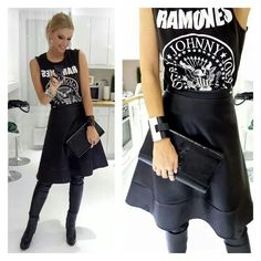 Rocker girl style