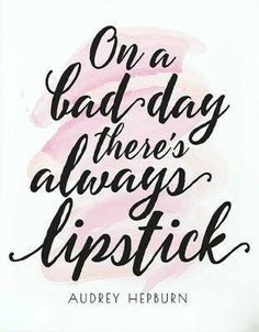 On a bad day, there's always Avon lipstick... www.youravon.com/jgee-fouhy