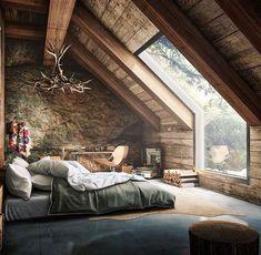If you enjoy rustic design, you'll appreciate this room!  www.thevintagegentlemen.com