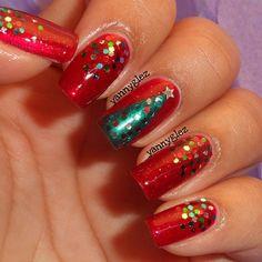 christmas by yannyglez #nail #nails #nailart