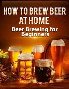 How To Brew Beer At Home: Beer Brewing for Beginners (Brewing Beer) by Tom Russell http://www.amazon.com/gp/product/B00JPXC1X2/ref=as_li_tl?ie=UTF8&camp=1789&creative=390957&creativeASIN=B00JPXC1X2&linkCode=as2&tag=bountifulfarm-20&linkId=2ZAOIFLTMIKS3BAE