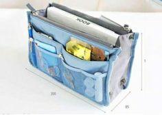 Több féle színben is kapható táskarendező, hogy az életed végre egyszerűbb legyen!