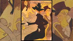 Toulouse-Lautrec, France, 1891 #Poster #HistoryOfPoster #Graphic