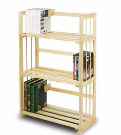 Bookcase Wooden Shelving 3 Flat Line Surface Home Solutions Natural  This Bookcase Wooden Shelving is(1) Unique Structure: Open display rack, shelves provide easy storage and display for decorative and home living accessories. Suitable for rooms needing vertical storage area. (2) Easy Assembly: with reference to the assembly instruction, this unit can be assembled in as short as 30 minutes. Designed to meet the demand of low cost but durable and efficient furniture. It is proven to be the…