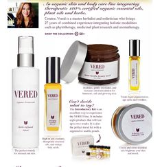 Beautyhabit.com Launching Vered Organic Botanicals