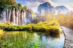 Plitvice Lakes National Park Plitvice Lakes National Park is one of eight Croatian National Parks. It is the most popular National Park in Croatia and it is on the list of UNESCO World Heritage Sites.The park is famous for its chain of lakes arranged in cascades with 16 lakes divided into two... - https://www.welcome-to-croatia.com/holiday-destinations/8-fascinating-national-parks-in-croatia/