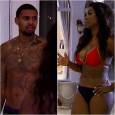 I know people don't like Kenya Moore, but it's disturbing to see men and women blame her for Glen Rice Jr. pushing his aunt down and behaving aggressively.