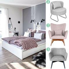 1. Fotel LEVER 2. Fotel WESLEY LARGO w wielu kolorach 3. Fotel MR T w wielu kolorach http://bogatewnetrza.pl/