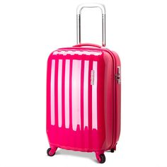 Carry on luggage hard shell suitcase wheels 20 in telescopic ...