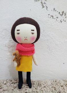 Knuffels à la carte blog: EEching Handmade!