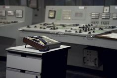 Inside The Exploded Nuclear Power Station - English Russia - Main control room # One