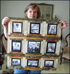 Photo Memory Quilt Designs | Quilt Patterns by Jean Boyd: Fibre Friends