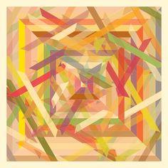 Geometric Silk Scarves and Handkerchiefs (Part 2) - excites - the Portfolio of Simon C. Page