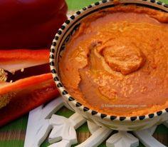 Smoked Red Pepper & Garlic Bean Dip « Mouthwatering Vegan Recipes™