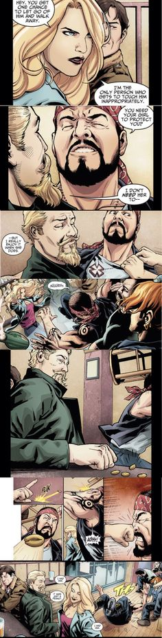 Black Canary being a bad ass meanwhile Green Lantern is busy being the third wheel lol (Injustice: Gods Among Us Year Two)