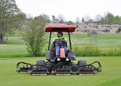 Per Christensen, head greenkeeper at Fredensborg Golf Club, is a loyal customer of the Jacobsen brand.