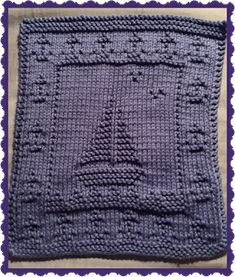 Monthly Dishcloth Overflow: June 1st 2015 KAL Day 7 - Final
