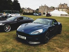 A few images here from the recent Wilton House Supercar event which was held on 12th August, sponsored by Harwoods Aston Martin Chichester. Cars on display included V12 Vantage S, Rapide S and Vanquish Volante. Discover Aston Martin: http://www.astonmartin.com/ #AstonMartin #Cars #Events
