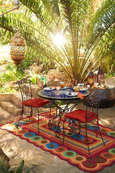 Un desayuno al calor del veranos para comenzar el día en armonía.