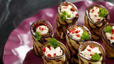 Roladki z bakłażana z fetą - Kuchnia Lidla