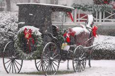 Christmas carriage,
