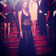 Actress Ana Vide at Cannes Festival with an exclusive Charo Ruiz Ibiza design  www.charoruiz.com