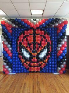 Spider-Man balloon panel!