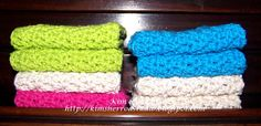 Lily Patch Quilts: Crochet Dishcloth Tutorial