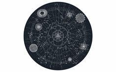 --> Moooi Carpets - Heim & Garten / Dekoration / Teppiche - Celestial Teppich Moooi Carpets --> € // check out more --> designwebstore. Grey Carpet, Modern Carpet, Celestial, Design Textile, Carpet Trends, Round Rugs, Star Patterns, Elle Decor, Carpet Runner