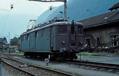 10 803 Erstfeld 28.06.78 Swiss Railways, Oil Rig, Electric Locomotive, Felder, Bahn, Rigs, Ship, Gallery, Vehicles